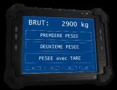 Tableta pesaje industrial