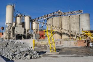 centrale à beton