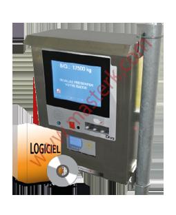 Software y terminal de pesaje táctil